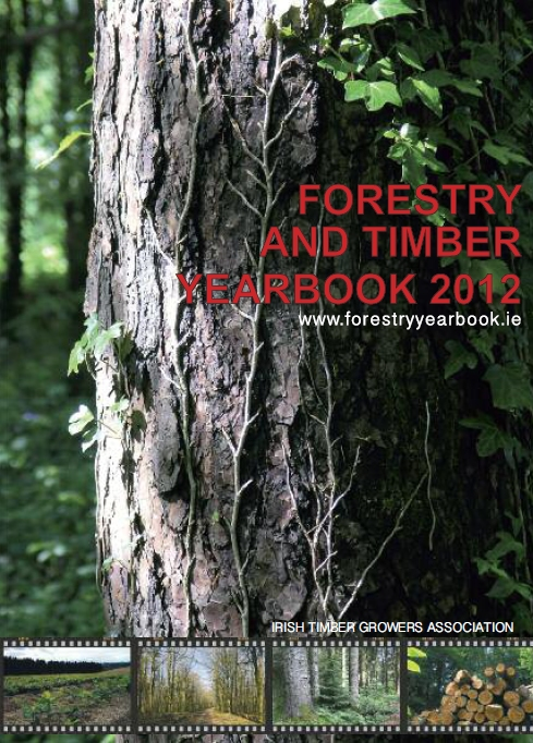 Cover of the 2012 Forestry & Timber Yearbook