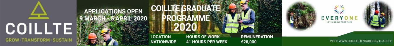 Coillte Recruitment 2020