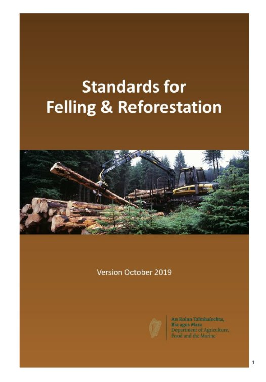 Interim Standard for Felling and Reforestation