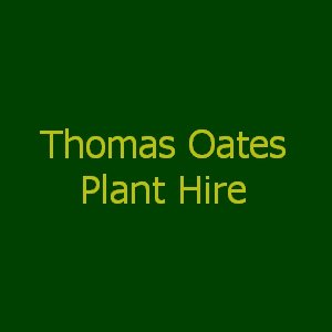Thomas Oates Plant Hire
